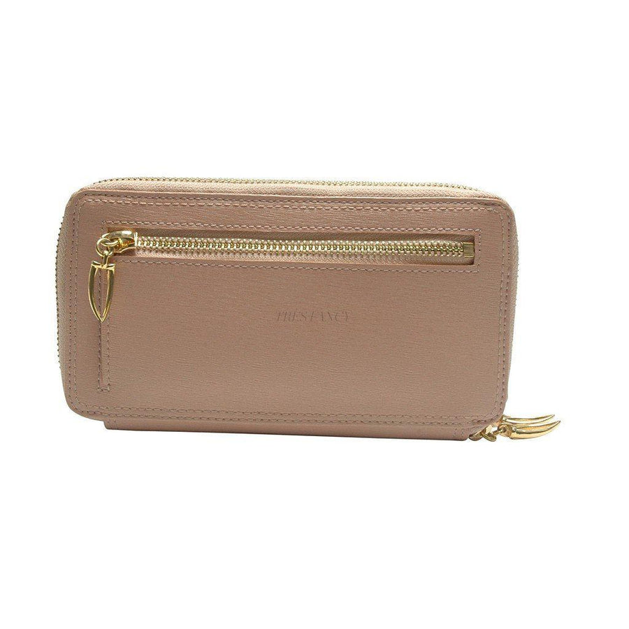 Madison Double Zip Clutch