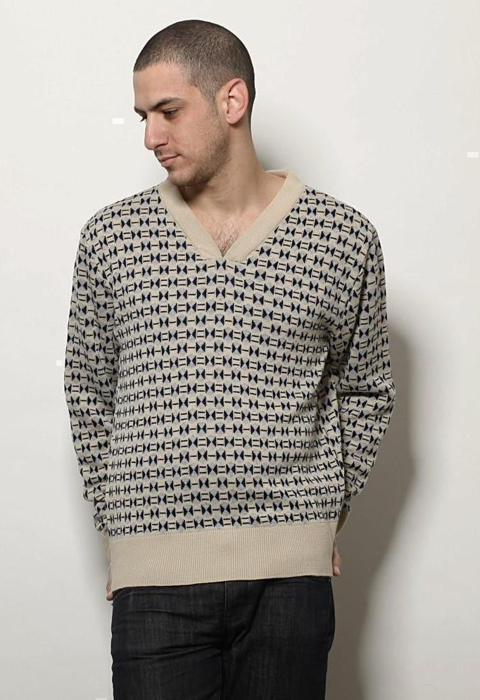 Mens knitted sweater-Men - Apparel - Sweaters - Pull Over-Andy Ve Eirn-TRESFANCY