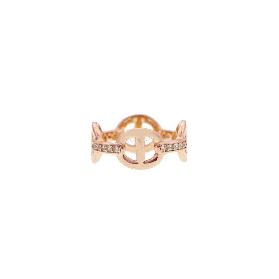 Mister LLC-Mister Cable Ring - Rose Gold-Men - Jewelry - Rings-Très Fancy - Duty Free Canada, Worldwide shipping