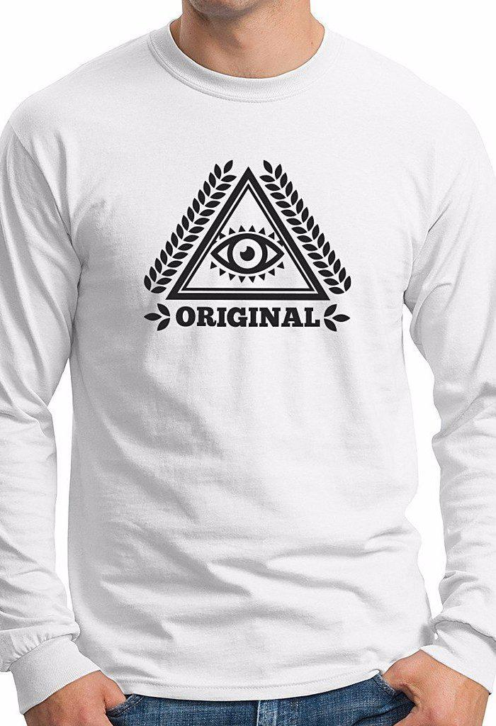 Original Mens Long Sleeve T-shirt-Men - Apparel - Sweaters - Crew Neck-CRD Concepts, LLC-TRESFANCY