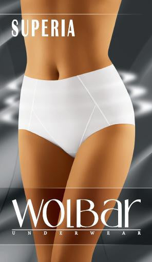 Panties 10597 Wolbar-Seamless, Shaping & Slimming Panties, Thongs-Wolbar-white L-TRESFANCY