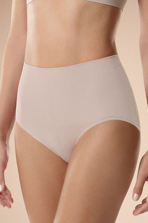 Panties 48396 Plie-Seamless, Shaping & Slimming Panties, Thongs-Plie-beige-XL-TRESFANCY