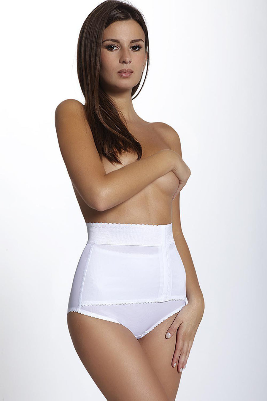 Panties 49311 Mitex-Seamless, Shaping & Slimming Panties, Thongs-Mitex-white-L-TRESFANCY