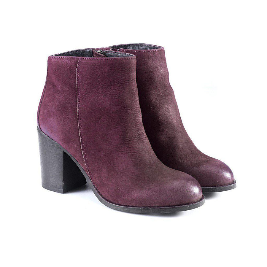 Phoebe Ankle Boots, Women - Shoes - Booties, Artemisia, Très Fancy, 36, , , , 261ff96a#1-Burgundy-36, [fashion_accessories_online_shopping_canada]