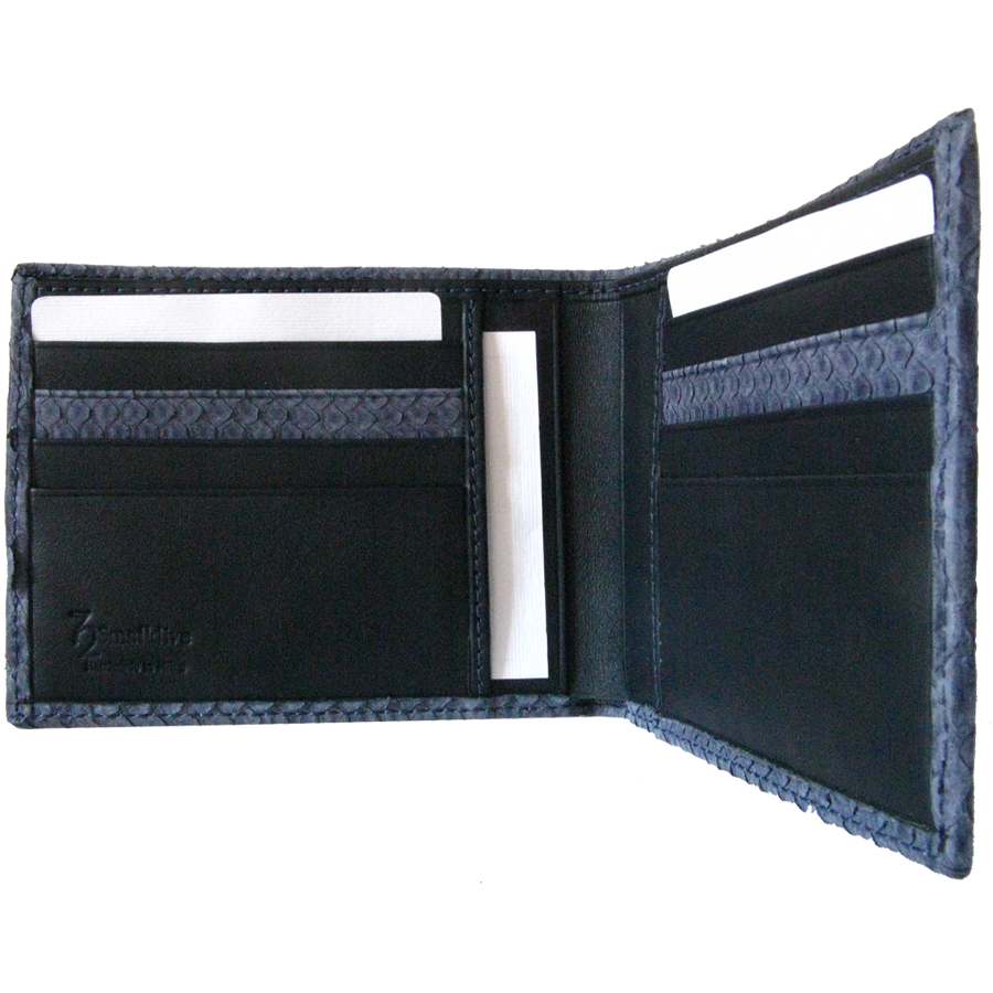 Python Billfold Wallet-Men - Accessories - Wallets & Small Goods-72 Smalldive-Très Elite