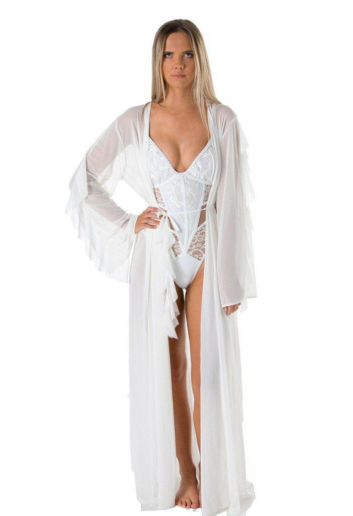 Rochelle Kaftan-Women - Apparel - Swimwear - Cover Ups-Mijanou-Très Fancy