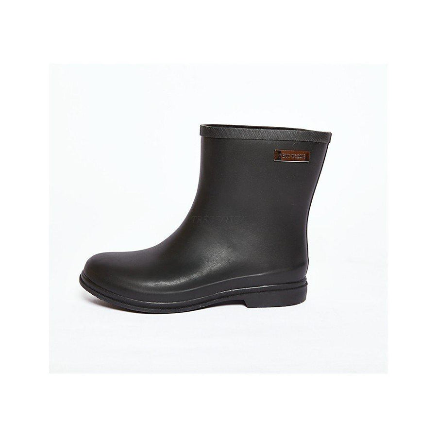 ROSEY black Gumboot-Women - Shoes - Boots-Merry People-TRESFANCY