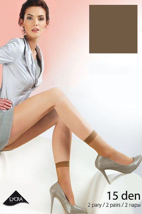 Socks 35191 Gabriella-Hosiery & Legwear, Stockings and Tights for Women-Gabriella-TRESFANCY