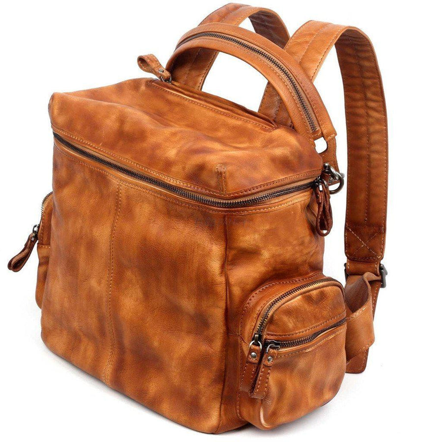 More Lane Inc-Spring Lark Backpack, Cognac-Women - Bags - Backpacks-Très Fancy - Duty Free Canada, Worldwide shipping