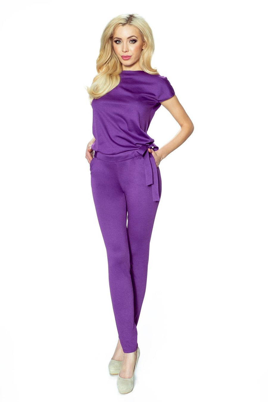 Suit 76880 Bergamo, Playsuits and Jumpsuits for Women, Bergamo, Très Fancy, violet, L, , , 76880, [fashion_accessories_online_shopping_canada]