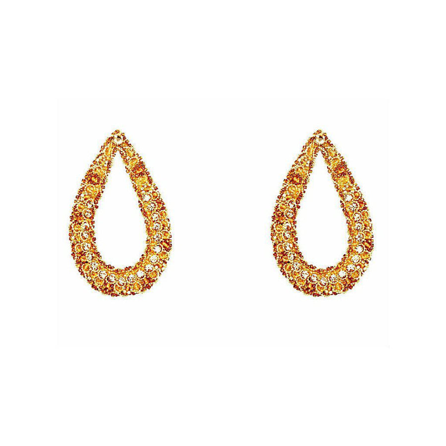 THE DIVA STATEMENT EARRINGS., Women - Jewelry - Earrings, BEGADA, Très Fancy, , , , , AG_2700-Topaz, [fashion_accessories_online_shopping_canada]