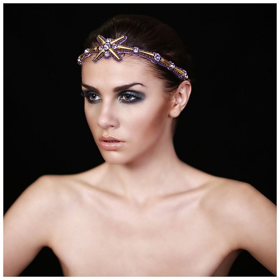 The Solaris Headband., Women - Accessories - Hair Accessories, BEGADA, Très Fancy, , , , , A-ROS_3900-Rose_&_Gold, [fashion_accessories_online_shopping_canada]