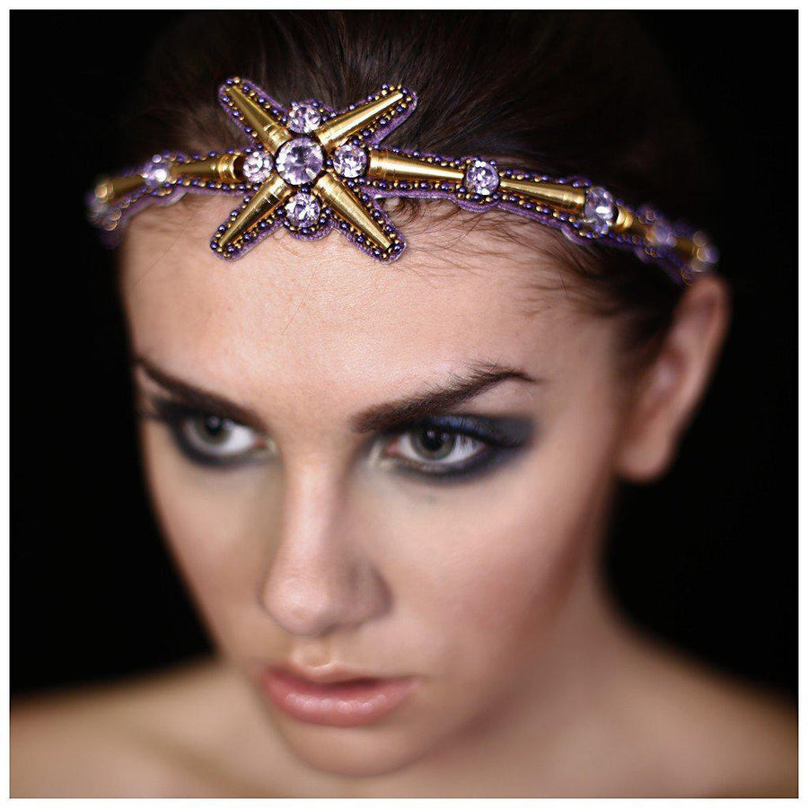 THE SOLARIS HEADBAND., Women - Accessories - Hair Accessories, BEGADA, Très Fancy, , , , , A 3900, [fashion_accessories_online_shopping_canada]