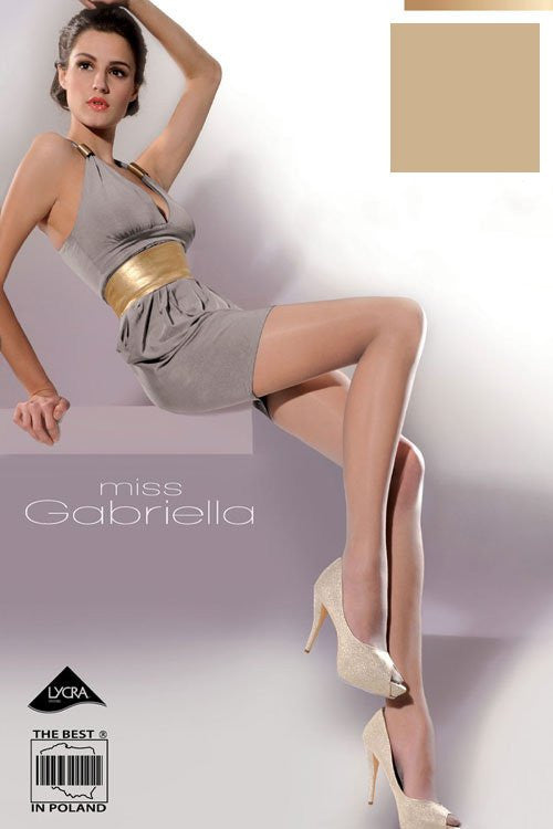 Tights 29301 Gabriella-Hosiery & Legwear, Stockings and Tights for Women-Gabriella-TRESFANCY