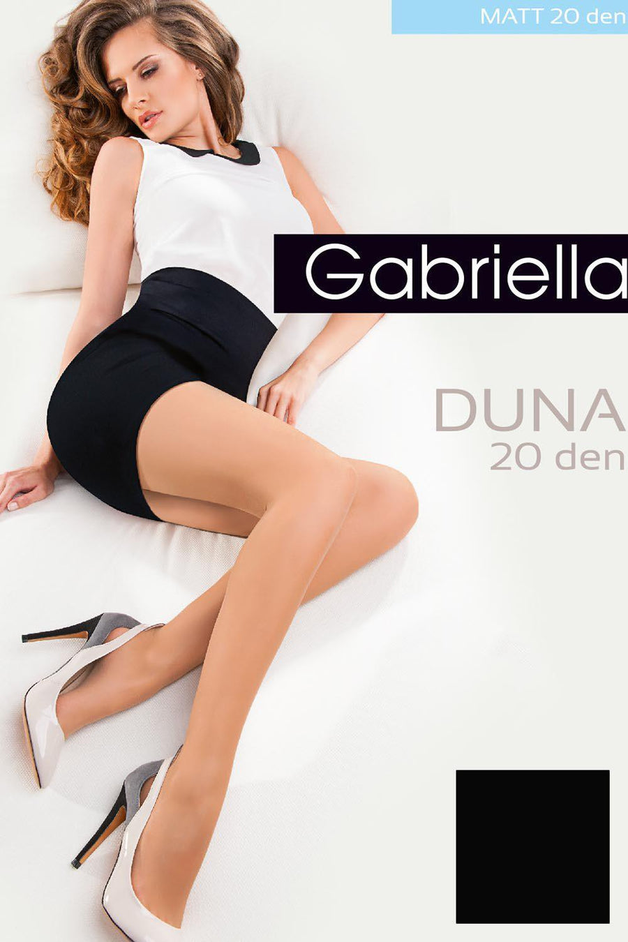 Tights 42213 Gabriella-Hosiery & Legwear, Stockings and Tights for Women-Gabriella-TRESFANCY