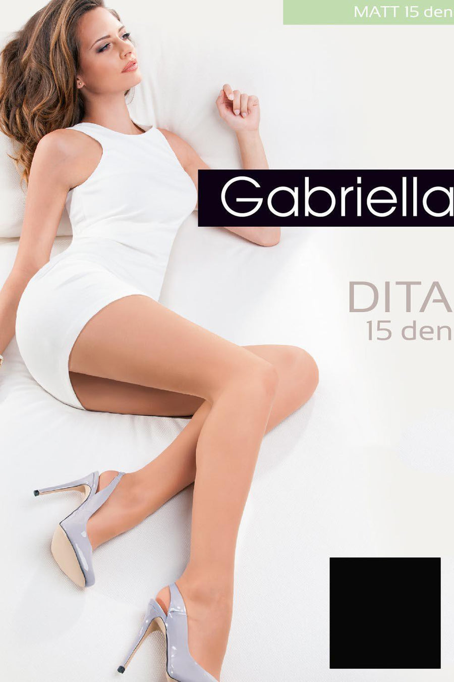 Tights 42219 Gabriella-Hosiery & Legwear, Stockings and Tights for Women-Gabriella-TRESFANCY