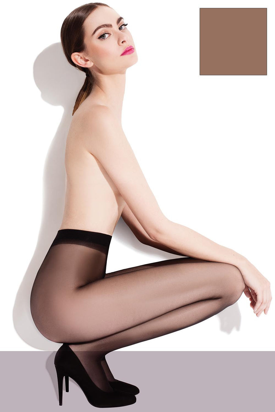 Tights 71118 Fiore-Hosiery & Legwear, Stockings and Tights for Women-Fiore-TRESFANCY