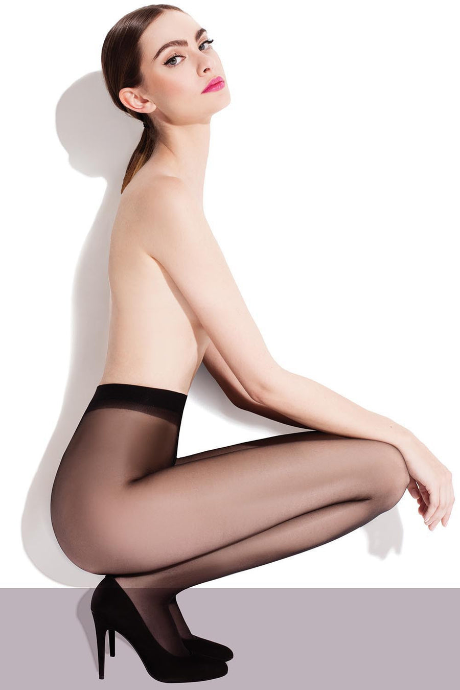 Tights 71120 Fiore-Hosiery & Legwear, Stockings and Tights for Women-Fiore-TRESFANCY