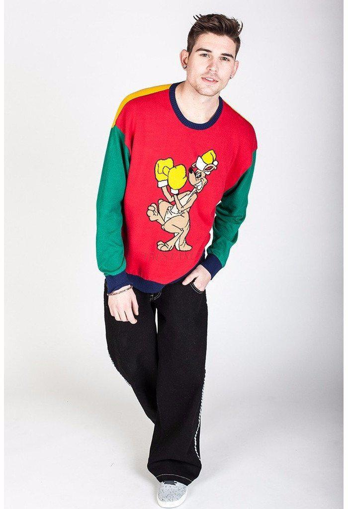 Uppercut Novelty Holiday Sweater-Men - Apparel - Sweaters - Crew Neck-jnco-jeans-TRESFANCY