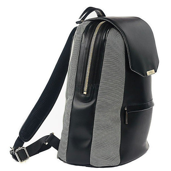 P.MAI-Valletta Backpack & Wristlet - Black-Women - Bags - Backpacks-Très Fancy - Duty Free Canada, Worldwide shipping