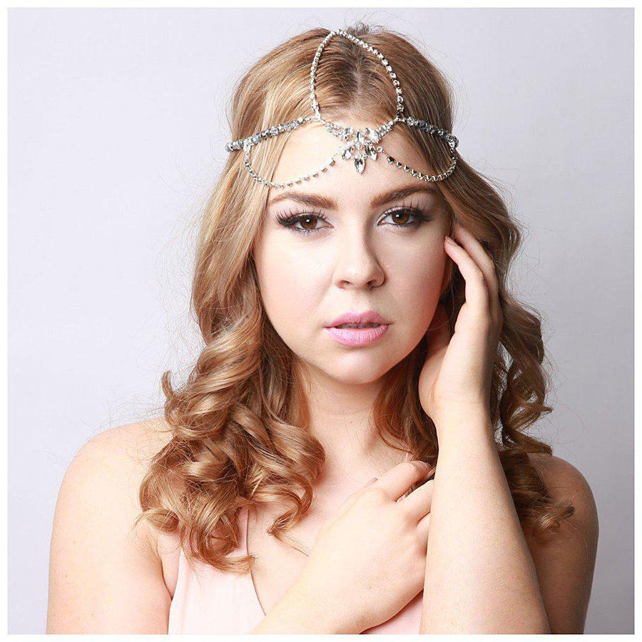 Cynthier-Veronica headpiece-Women - Accessories - Hair Accessories-Très Fancy - Duty Free Canada, Worldwide shipping