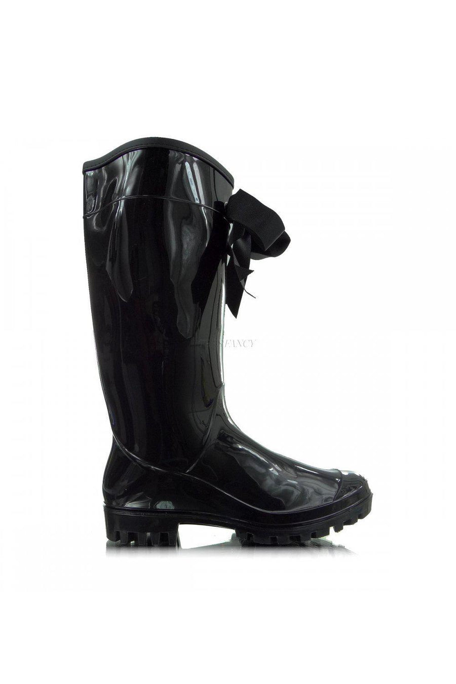Wellingtons 20690 Heppin-Over the Knee High Boots, Thigh High Boots-Heppin-black-36-Très Fancy
