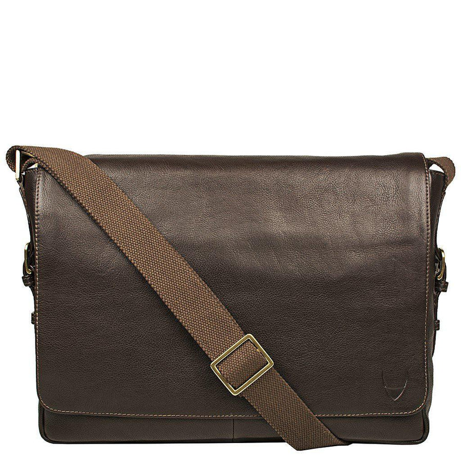 "Hidesign-William Horizontal 15"" Laptop Compatible Leather Messenger-Men - Bags - Crossbody-Très Fancy - Duty Free Canada, Worldwide shipping"