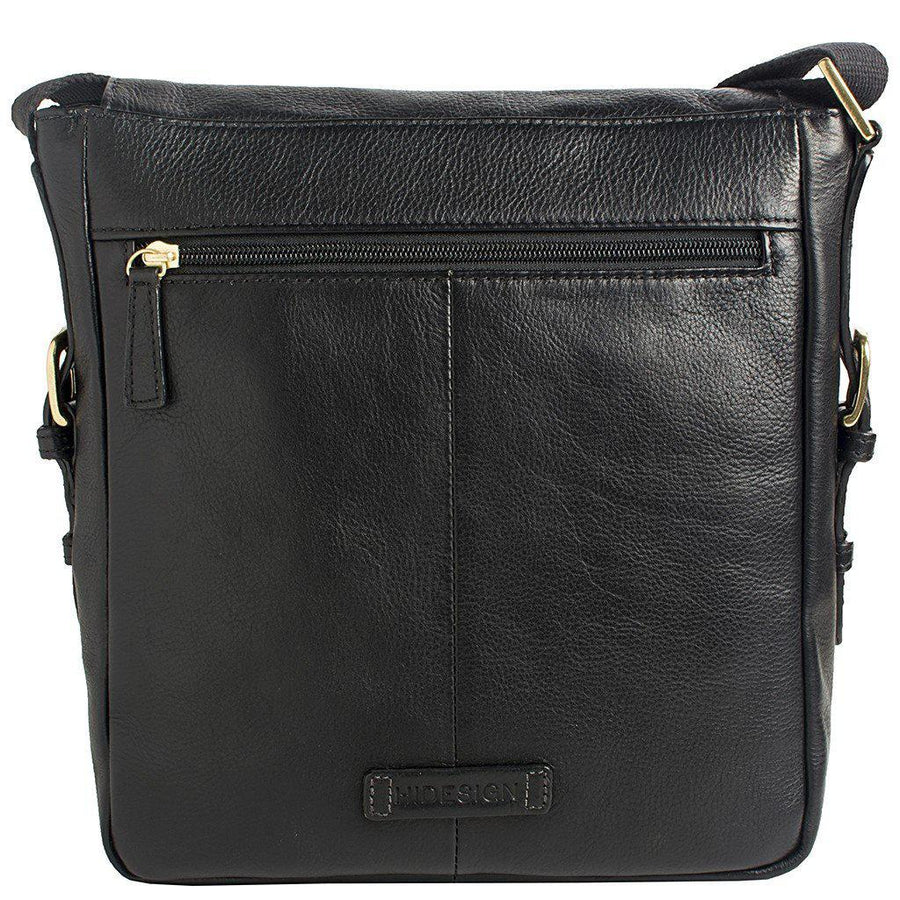Hidesign-William Vertical Leather Messenger-Men - Bags - Crossbody-Très Fancy - Duty Free Canada, Worldwide shipping