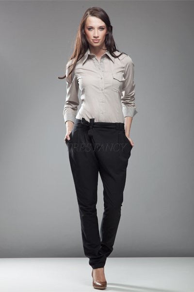 Women trousers 10532 Nife-Formal Trousers for Ladies-Nife-TRESFANCY