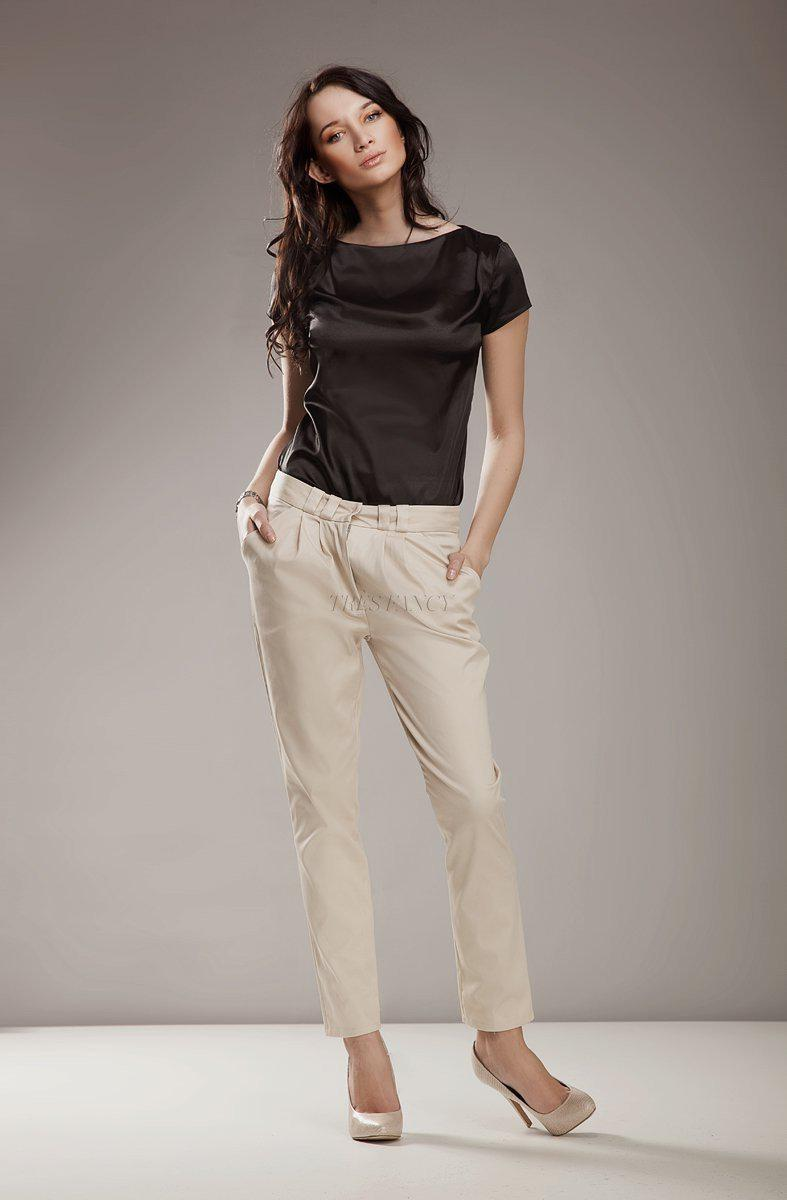 Women trousers 9226 Nife-Formal Trousers for Ladies-Nife-TRESFANCY