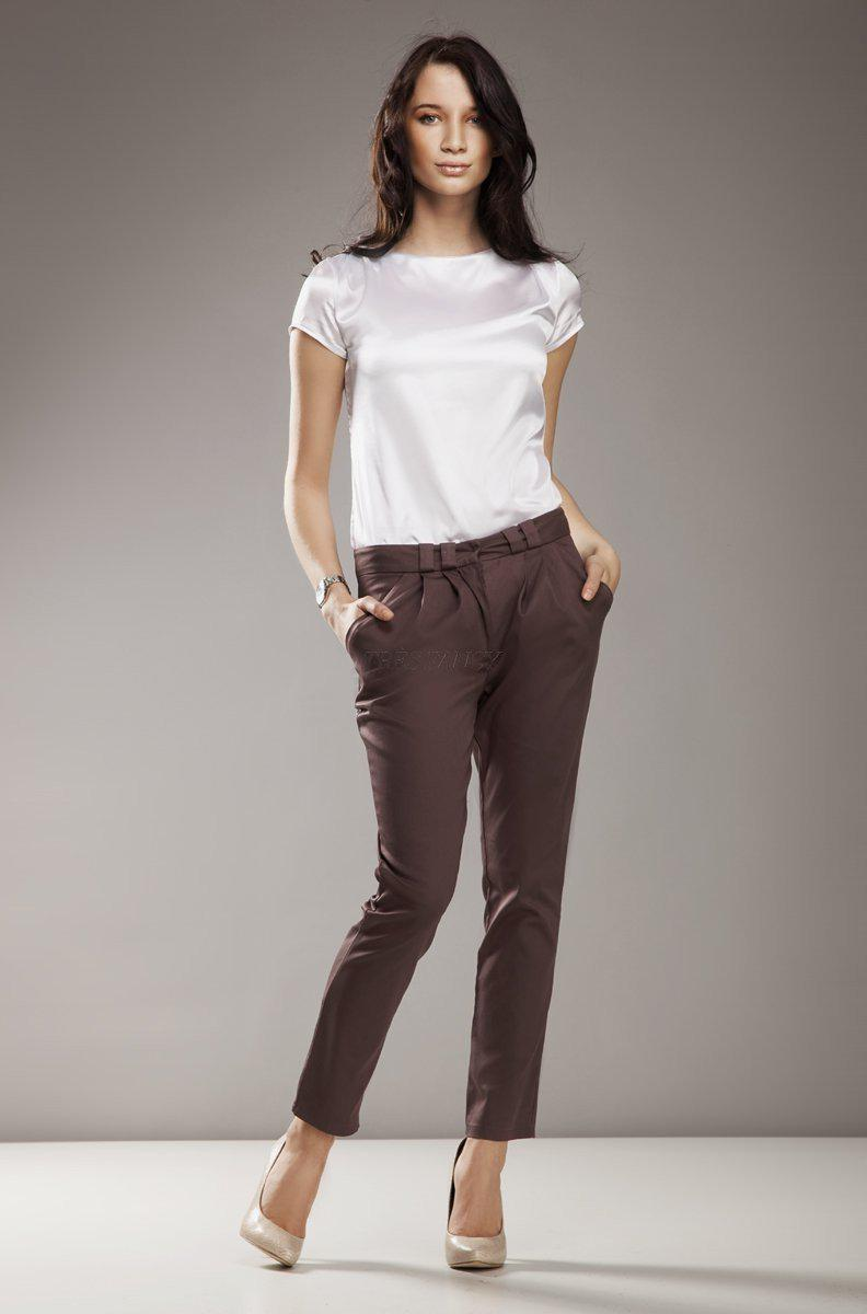 Women trousers 9227 Nife-Formal Trousers for Ladies-Nife-TRESFANCY