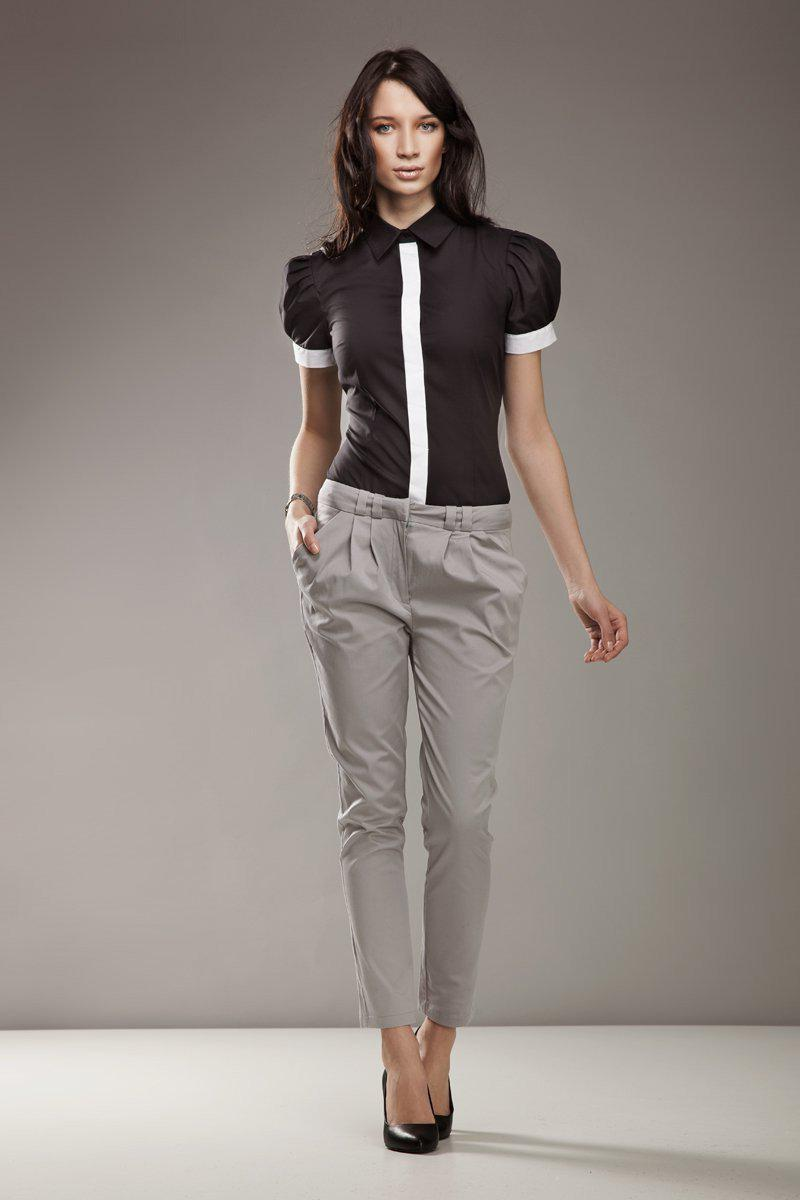Women trousers 9229 Nife-Formal Trousers for Ladies-Nife-TRESFANCY