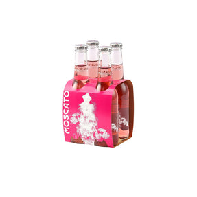 Pink moscato bottles