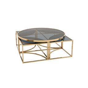 Eichholtz Padova Coffee Table – Gold Finish