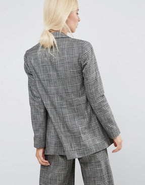 Workwear Blazer In Check