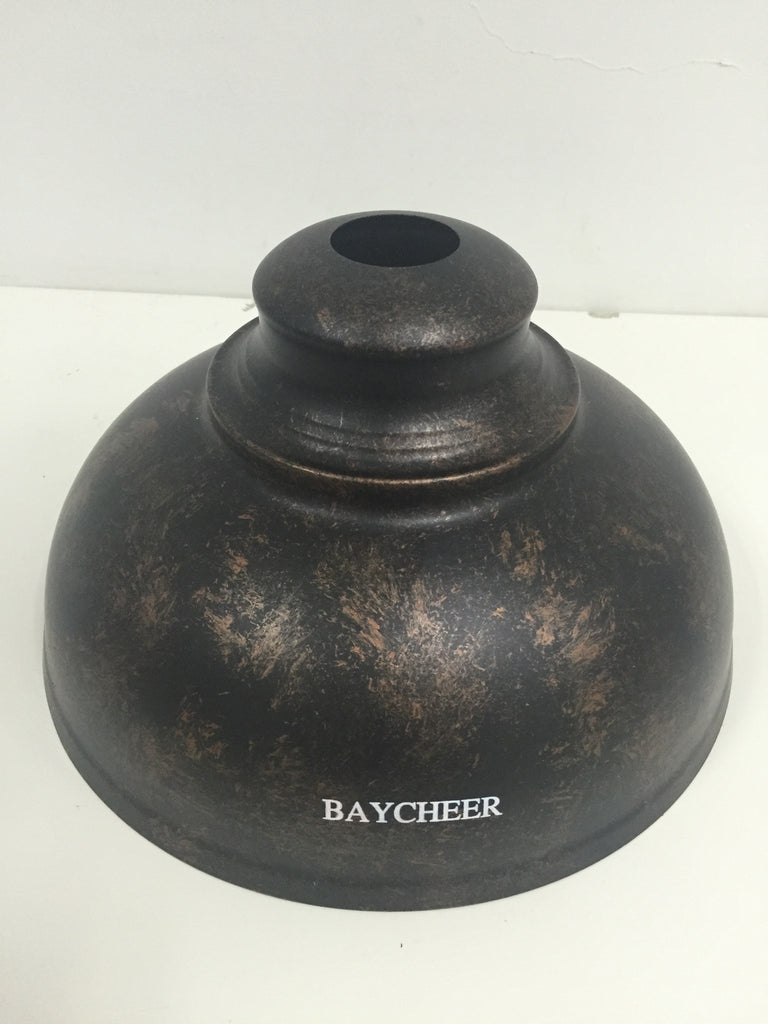 BAYCHEER Rust Industrial Retro Pendant Light with Bowl Shape - HL371892