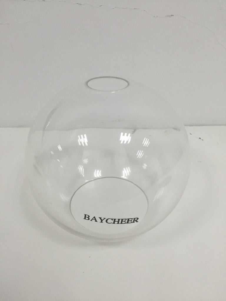 BAYCHEER Globe Shade Sconce Wall Light with Clear Glass Shade - HL416426