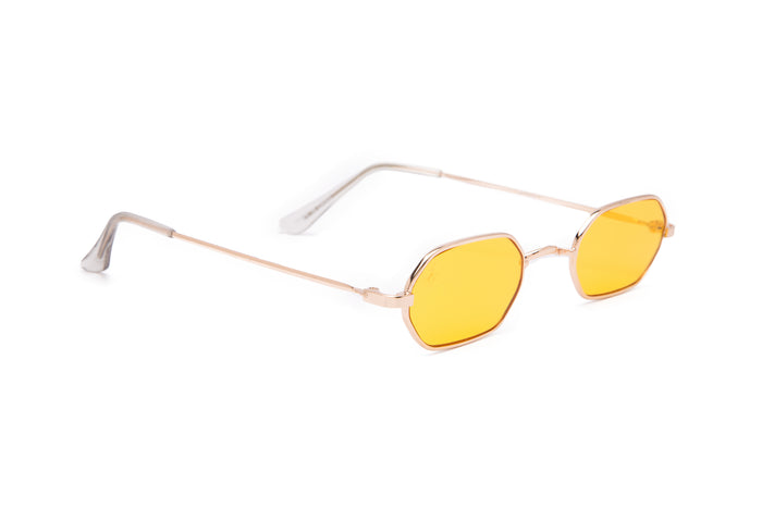 SLIM RECTANGLE STYLE WITH YELLOW LENSES - JP18322
