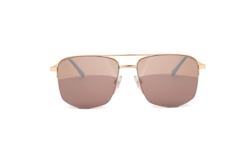 GOLD OVERSIZED SQUARE FRAMES - JP18588