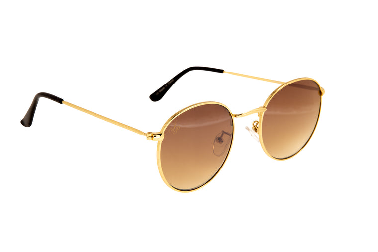 CLASSIC ROUND FRAMES IN GOLD - JP18720