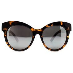 quay-maiden sunglasses - tortoise-mercer & winnie