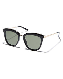 le specs-caliente sunglasses - black/gold-mercer & winnie
