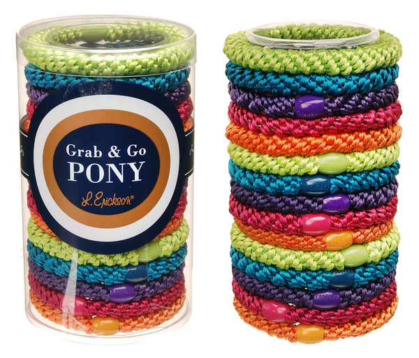 l. erickson-ponytail holders (set of 15)-mercer & winnie