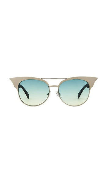 quay-zig sunglasses - gold-mercer & winnie