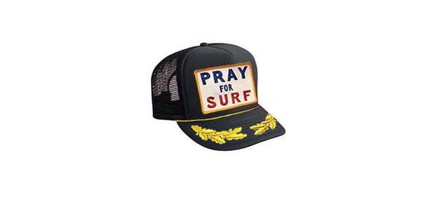aviator nation-pray for surf vintage leaf trucker hat-mercer & winnie