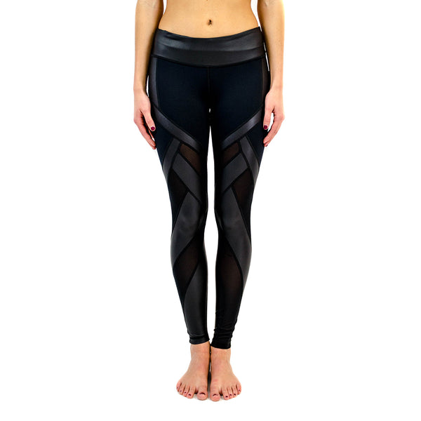allegiance legging - black