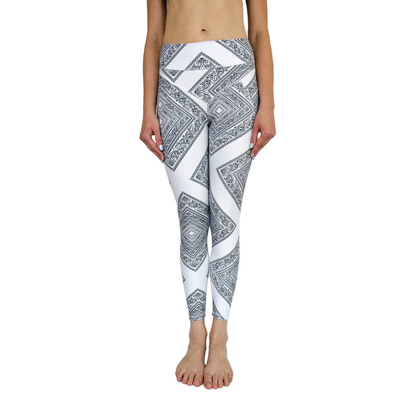 vault chief legging - white