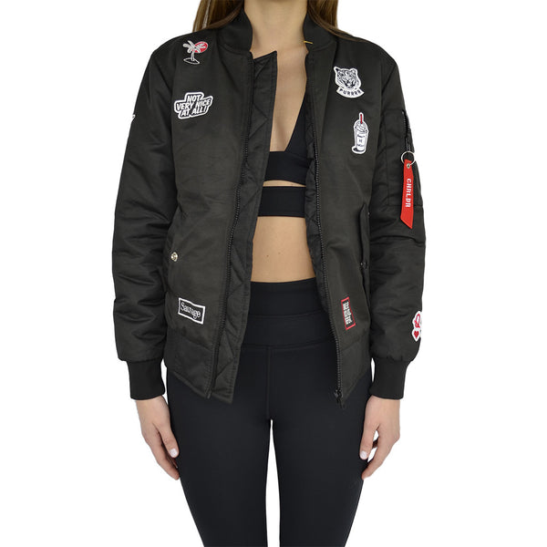CHRLDR-mademoiselle patch flight jacket-mercer & winnie