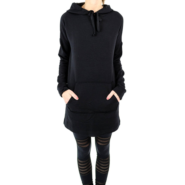 hood times sweatshirt dress