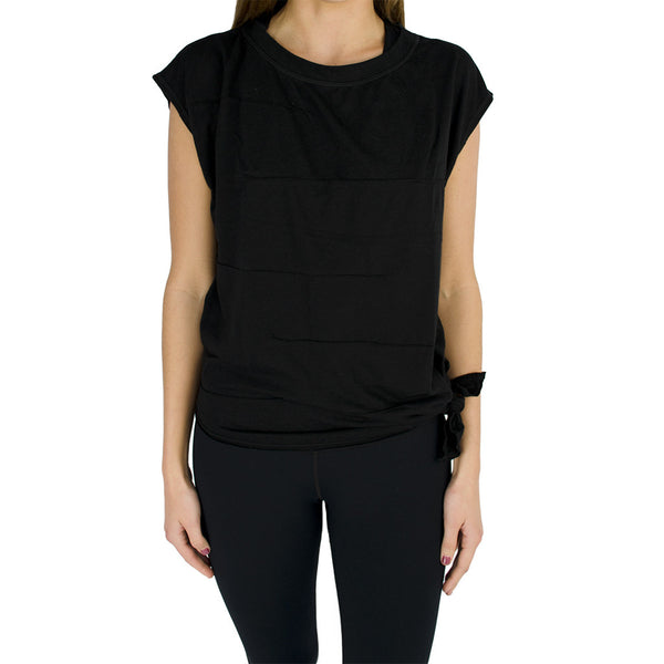 vimmia-pacific pintuck wedge tee-mercer & winnie